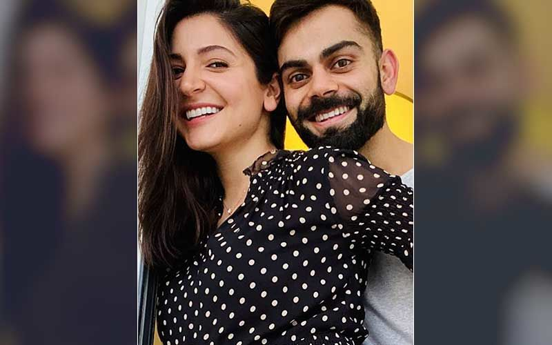 New Mom Anushka Sharma And Hubby Virat Kohli Shoot For A New Ad; Couple Looks Adorable As They Discuss Travel Plans Together-WATCH Video