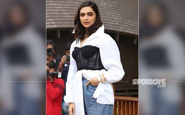 Deepika Padukone Completes Her Latest Airport Look With A Trendy Leather Tote Bag That Costs 2 Lakh Rupees