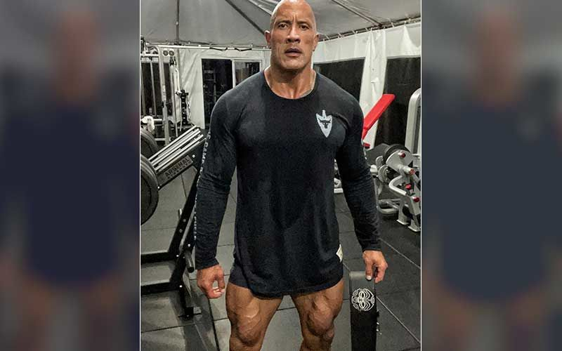 Dwayne Johnson Gives A Peek Into His Training Routine For Black Adam; The Rock Reveals He Is Working Hard To Come Into The Role-VIDEO