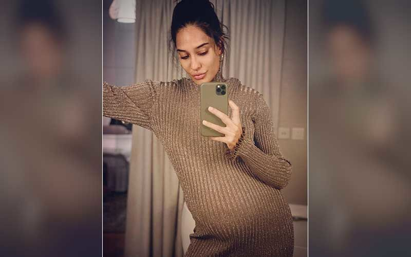 Lisa Haydon Is 'Not Sure' If Her Big Belly Is Thanks To Her Growing Baby Or Just Pizza; Shares A Stunning Maternity Picture In A Jumpsuit