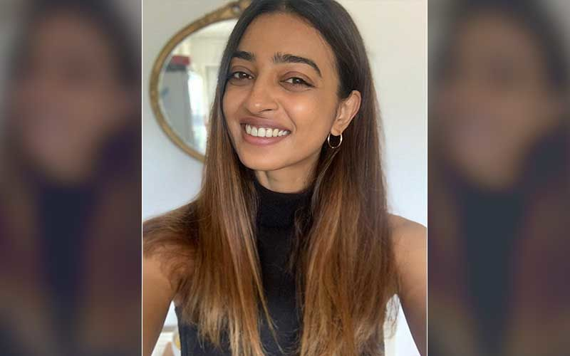 Radhika Apte Looks Charismatic In A Floral Dress; Raises The Temperature As She Turns Cover Girl