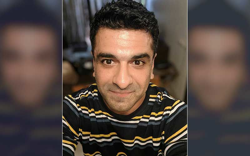 Eijaz Khan Flashes A Million-Dollar Smile In Latest Pic; Bigg Boss 14 Fame Poses For The Camera With His Friend And An Adorable Pooch
