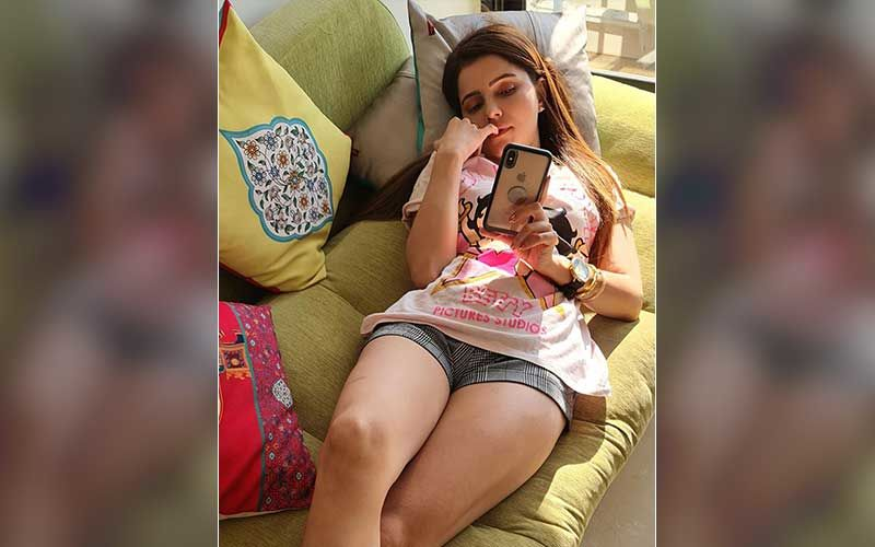 This Is How Bigg Boss 14 Winner Rubina Dilaik Is Chilling At Home; Gets Busy Watching Love Pouring At Her On Social Media