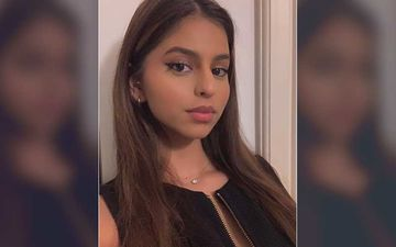 Suhana Khan Shows Off Her Love For Black In Classy Photo; Strikes A Cool Pose With Friend