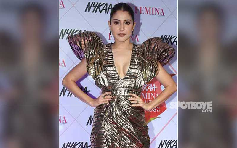Anushka Sharma Gets Busy Reading A Script During Hair And Makeup; Shares A Surreal BTS Vanity Van Pic