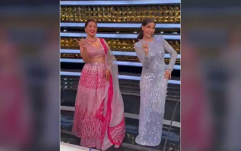 Dance Deewane 3: Madhuri Dixit And Nora Fatehi Groove To The Beats Of Song Dilbar; Their Killer Moves Are Too Sharp To Miss- WATCH Video