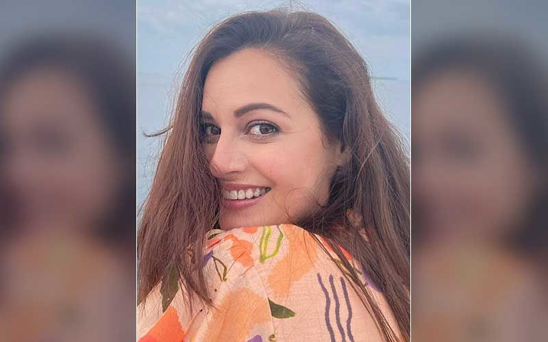 Dia Mirza Shares A Glimpse Of Her 'Work From Home'; Radiates Pregnancy Glow In Latest Sun-Kissed Pic