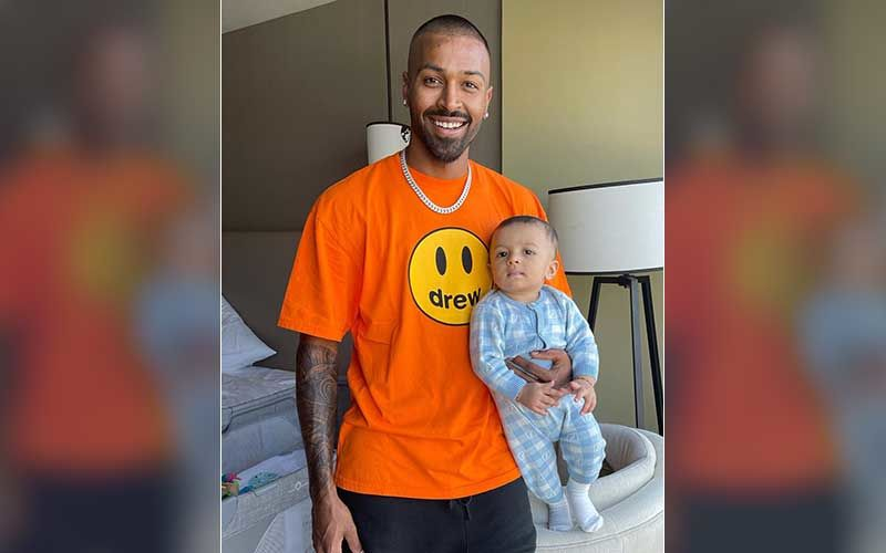 Ahead Of IPL 2021 MI Vs RCB, Hardik Pandya Drops A Blissful Pic With His Son Agastya; Gives Fans A Glimpse Of Laughter He Needs Before The Game