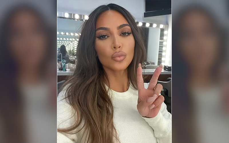 Kim Kardashian Faces The Wrath Of Netizens For Wearing 'Om' Shaped Earrings During Latest Photoshoot - Pics Inside