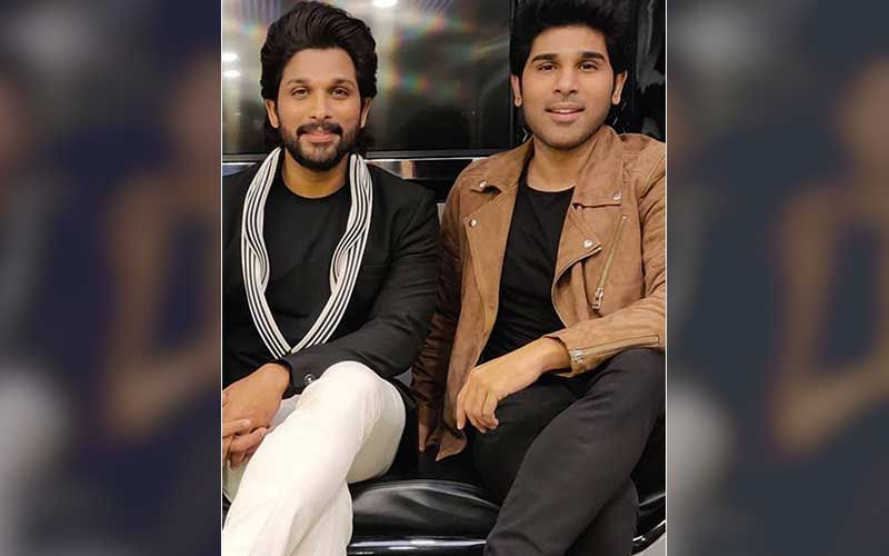 COVID-19 Positive Allu Arjun Says A Big 'Hi' To All From His House Terrace; Brother Allu Sirish Informs 'He's Doing Fine'