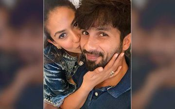 Mira Rajput Shares A Pic Of Shahid Kapoor's Shoes-Socks Lying Around In The House; Asks A Serious Question, 'Are All Men Like This?'