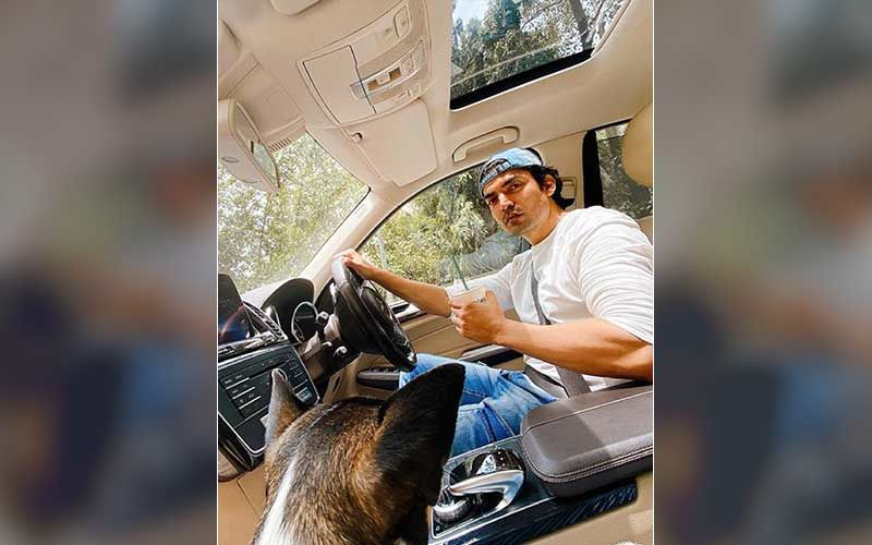 Gurmeet Choudhary Enjoys Sipping On Coffee In His Swanky Car; Actor Responds To An Upset Fan Requesting A Message From Him