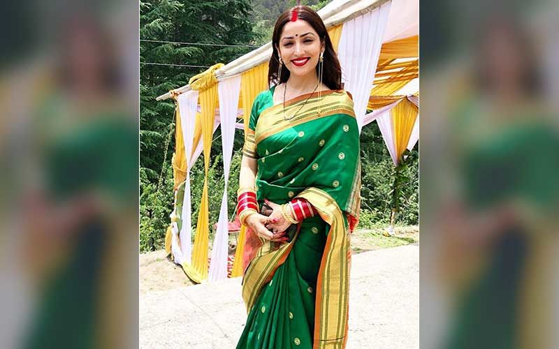 Newly-Wed Yami Gautam Makes Her First Public Appearance; Actress Looks Ravishing Dressed In A Dark Green Saree-Read Deets HERE
