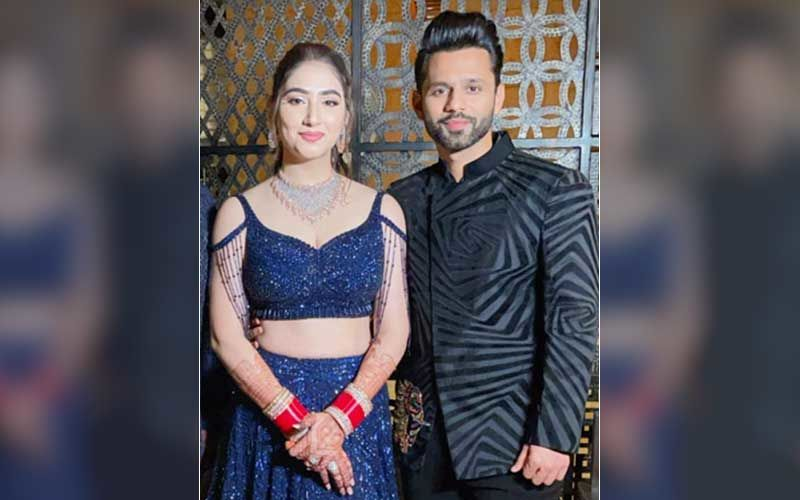 Rahul Vaidya And Disha Parmar's Sangeet: FIRST Photo Of The Couple From The Fun-Filled Night