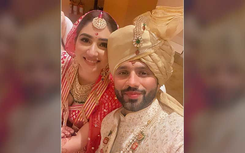 Rahul Vaidya-Disha Parmar's Marriage Video Is All Things Beautiful; Couple Gives Fans A Glimpse Of The 'Dishul Wedding'-WATCH
