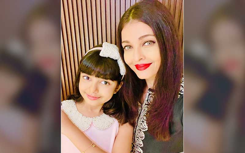 Aishwarya Rai Bachchan And Aaradhya Bachchan's Throwback Video Dancing On Ghoomar Is Adorable; Little One Gives A Glimpse Of Her Superb Dance Skills-WATCH