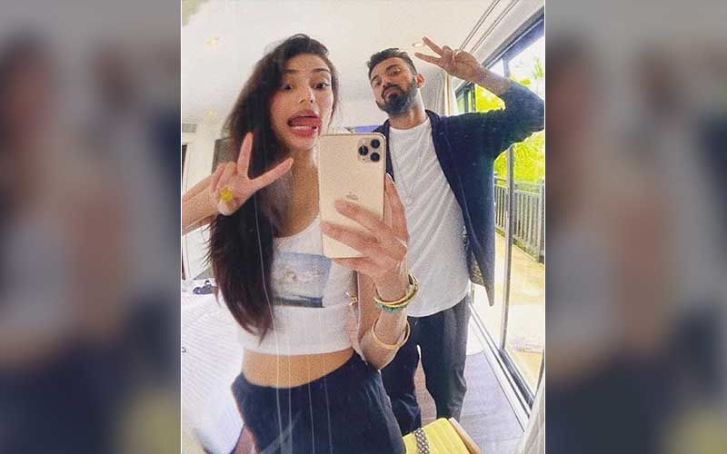 KL Rahul Drops An Adorable Pic Of A Lady Pulling His Ear; Fans Comment, 'Athiya Shetty That's Your Cute Hand'