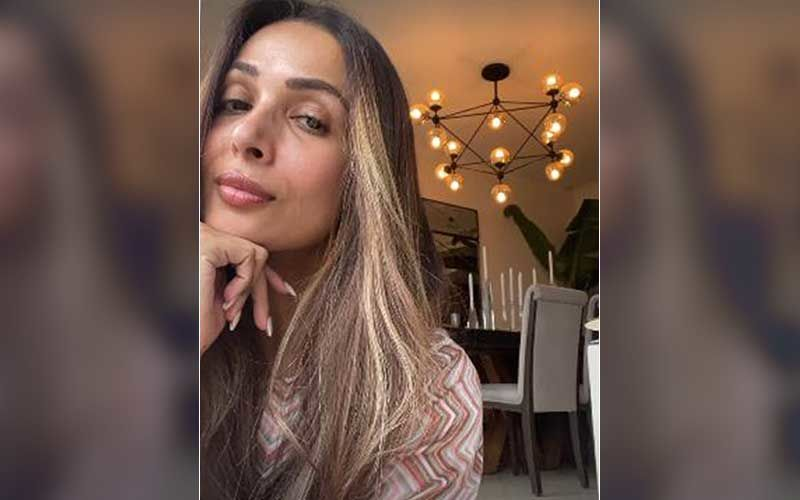 Malaika Arora Gives A Peak Into Her Humble Abode; Her Home's Modern Interior Design And Ambient Lighting Creates The Perfect Mood For A Cosy Evening