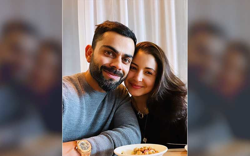 Virat Kohli Drops A Loved-Up Selfie With Anushka Sharma From Their Lunch Date; Actress Blushes In Joy