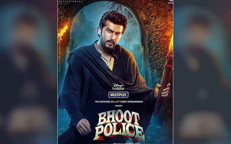 Bhoot Police: After Saif Ali Khan, Arjun Kapoor Introduces His Character 'CHIRAUNJI' From The Multi-Starrer; Actor's First Look Is Sharp And Mysterious