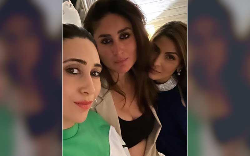 Kareena Kapoor Khan Posts A Selfie With Her 'Sisters' Karisma And Riddhima Kapoor Sahni; Saba Ali Khan Calls Them 'Divas'