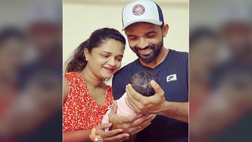 Cricketer Ajinkya Rahane Shares First Picture Of His Baby Girl With Wife Radhika