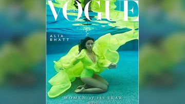 Alia Bhatt Looks Like A Green Mermaid In Her Latest Underwater Cover Photoshoot