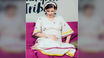 Kalki Koechlin Shares An Adorable Couch Picture Comforting Her Baby Bump