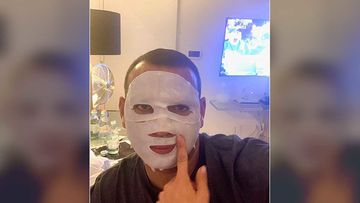 Jennifer Lopez Makes Fiancé Alex Rodriguez Try On Her Facial Sheet Mask; A-Rod Jokes He's 'Prepping For The MLB Playoffs'