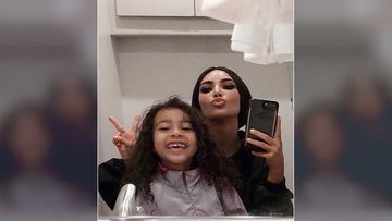 Kim Kardashian's Love Soaked Selfie On Social Media With Daughter North West Is Adorbs