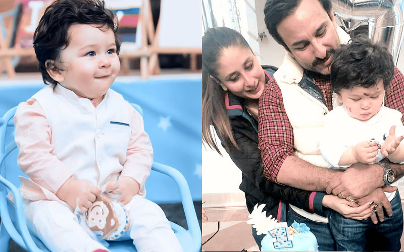 This Is How Taimur Celebrated His First Birthday!