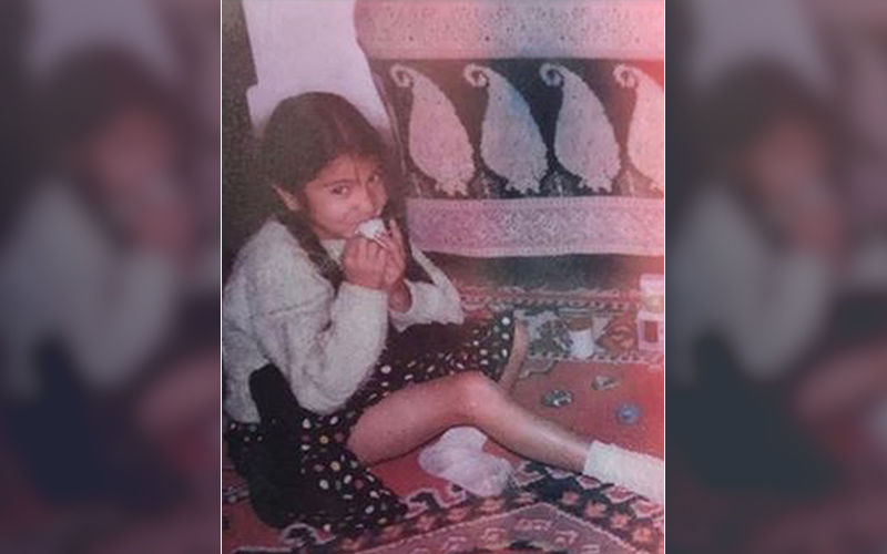 Anushka Sharma Looks Lost In Thought As She Shares A Throwback Picture From Her Childhood