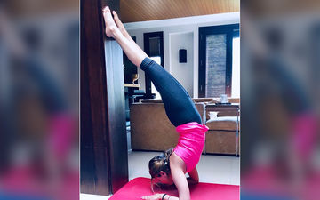 Ranbir Kapoor's Sister Riddhima Kapoor Sahni Does A Scorpion Yoga Pose Which Looks Impossible For Us To Achieve