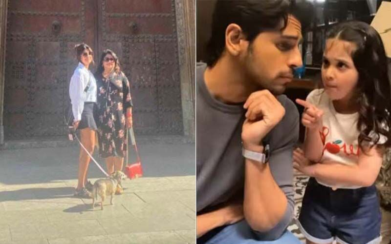 Entertainment News Round Up: Priyanka Chopra Goes Sightseeing In Spain; Sidharth Malhotra's New Dimple; And More
