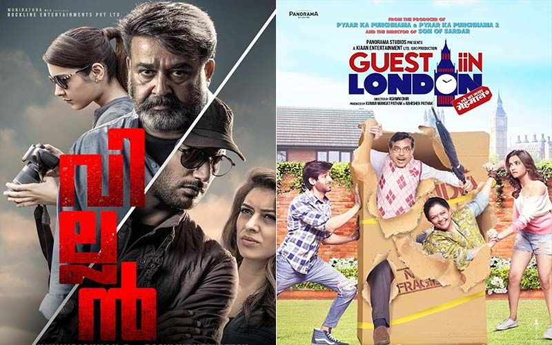 Villain And Guest In London: Two Films On OTT Space Where The Actors, Mohanlal And Kartik Aaryan Respectively, Outshine The Material