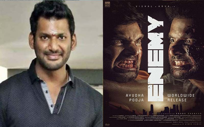 Vishal Reddy's Action Film Enemy To Release Worldwide On The Day Of Ayudh Pooja