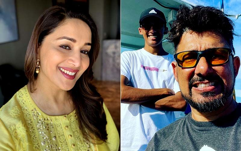Madhuri Dixit and Shriram Nene Are Proud Parents, As Their Elder Son Arin Joins A University In The US, See Pics
