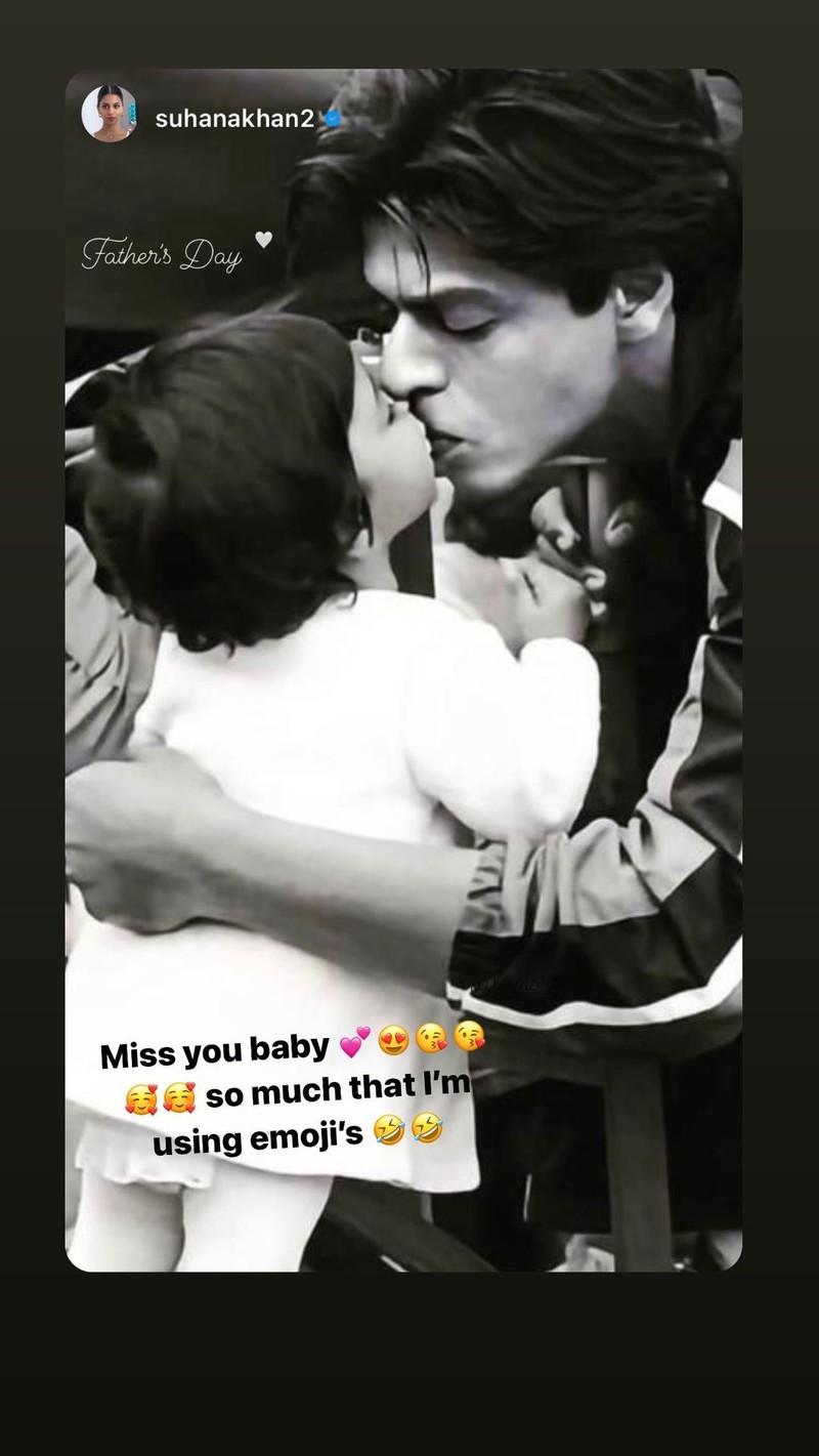 Shah Rukh Khans Instagram stories
