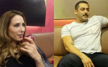 What was Iulia Vantur doing in Salman Khan's private chalet