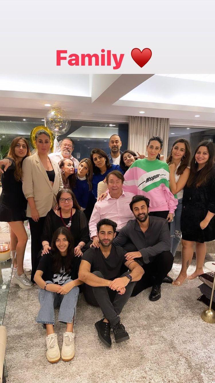 Neetu Kapoor s Birthday dinner