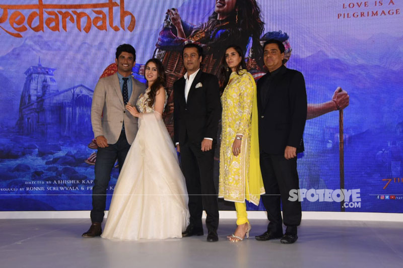 kedarnath trailer launch