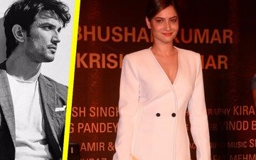 Ankita makes her FIRST public appearance after break-up with Sushant