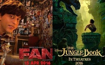 Shah Rukh's Fan will not clash with Jungle Book