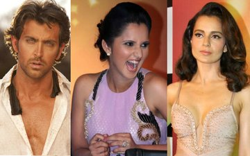 Watch: Sania Mirza jokes about Hrithik-Kangana's legal war, that too in front of Kangana!