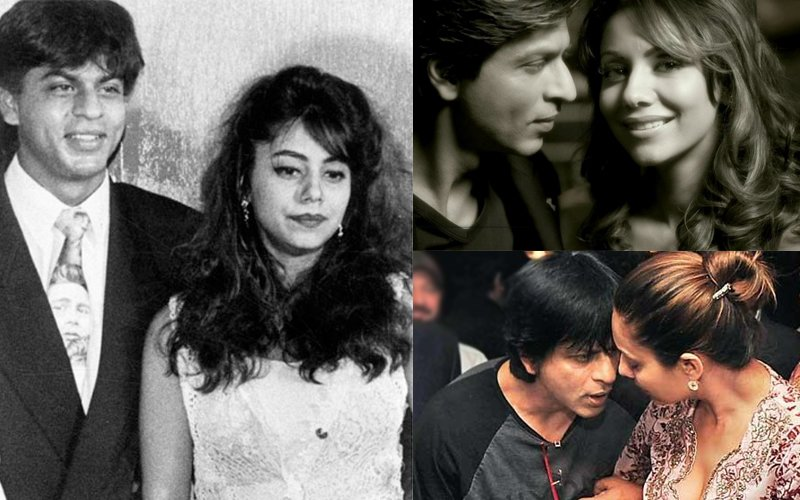VIDEO: 25th WEDDING ANNIVERSARY: Shah Rukh Khan And Gauri Khan's Rare Old Pictures