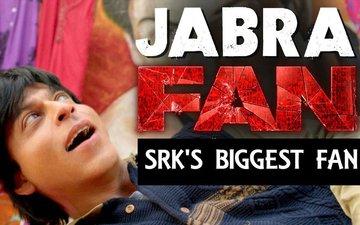 SRK's biggest fan goes crazy!