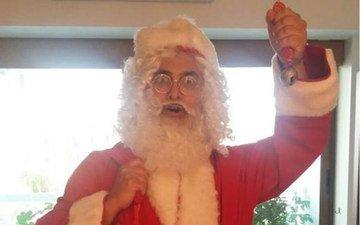 Aamir Khan Turns Santa For Son Azad