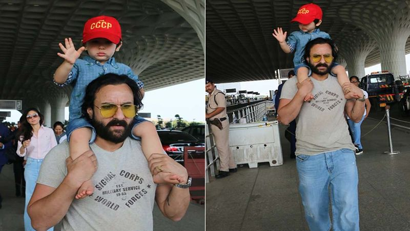 Taimur Ali Khan Loves Running Around Barefoot And Is A Nature's Boy