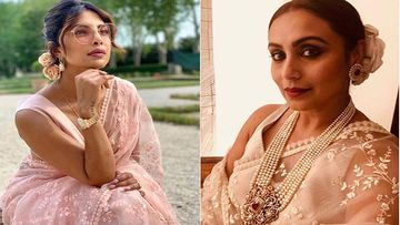 Fashion Face-Off: Who Wore The Sabyasachi Sheer Saree Better- Priyanka Chopra Or Rani Mukerji?