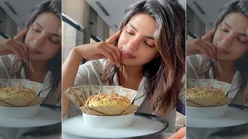 Priyanka Chopra Relishes On Daulat Ki Chat, Fans Want To Know If The Currency Notes Are Edible Or Not